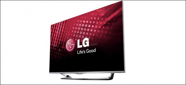 An LG TV