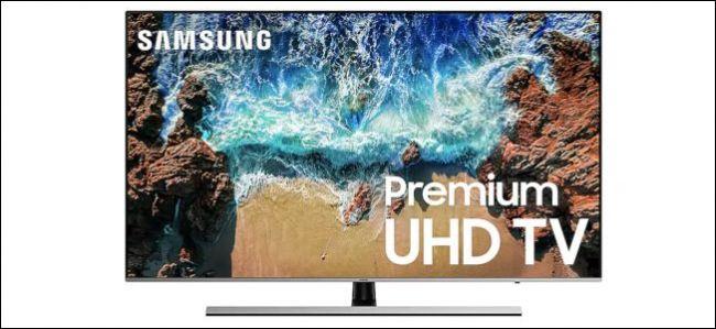 A Samsung UHD TV