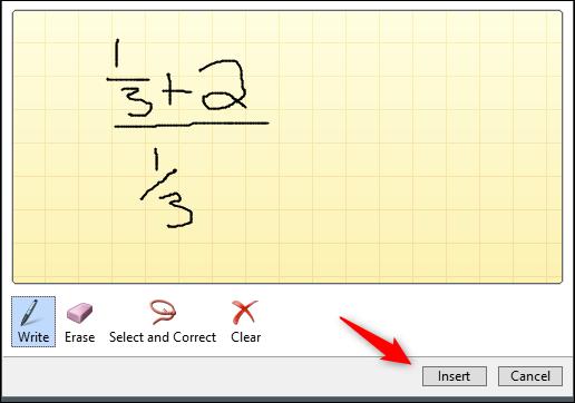insert complex fraction