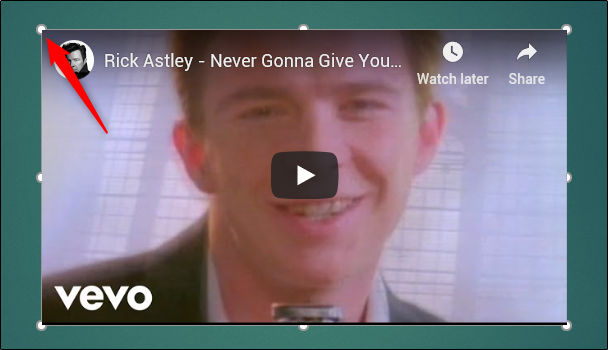 rick astley never gonna give you up powerpoint