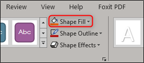 shape fill
