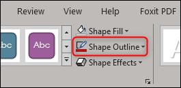 shape outline