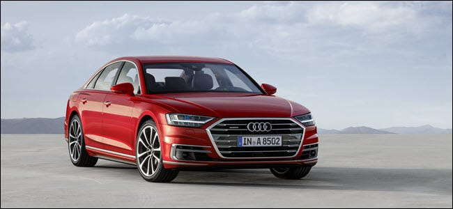 Audi A8 [19659027] The Audi A8 features level 3 capabilities, but not in the US <span class=