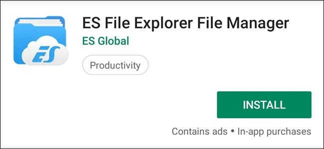 A Vulnerability in ES File Explorer Exposes All of Your