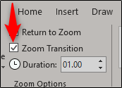 zoom transition