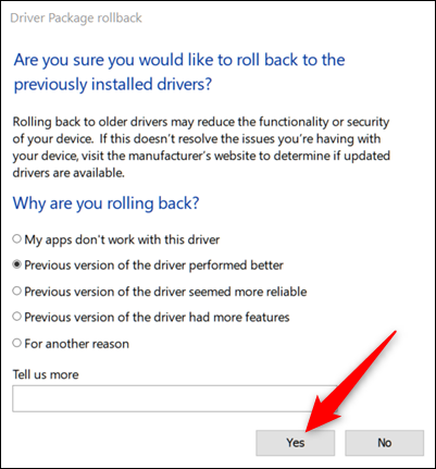 Windows makes asking if you are sure you want to