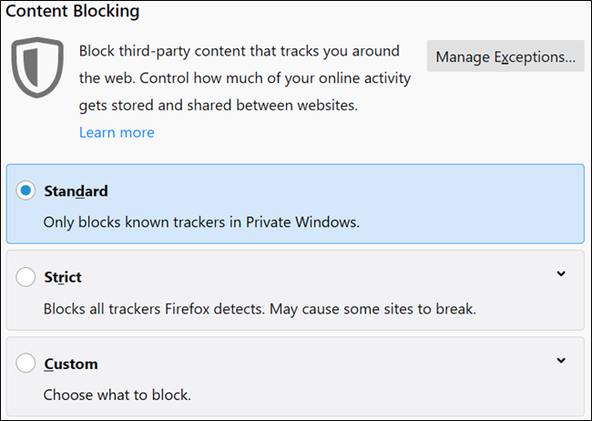 58951ebffef3e3 How to Block Trackers in Firefox (Without Installing Add-ons)