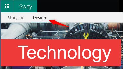 The Design option