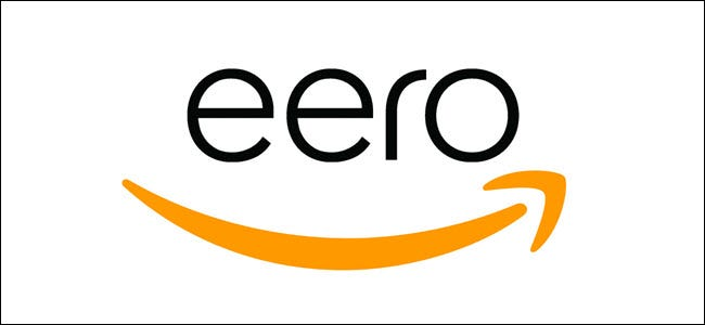 Amazon Arrow Logo with Eero logo