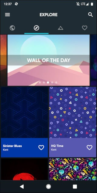 wallpapers on play store