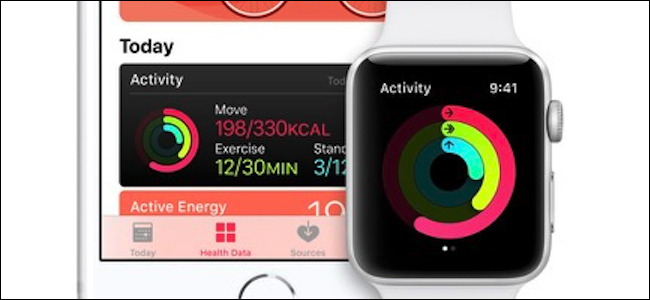 iPhone and Apple Watch Health app