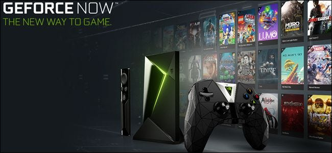 NVIDIA's GeForce NOW can stream hundreds of PC games over the web to other PCs or the SHIELD.
