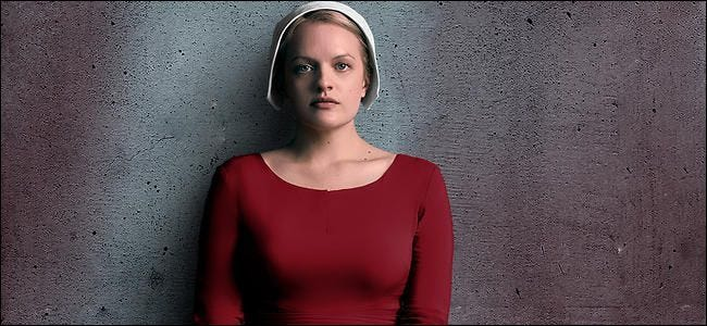 Video services compete for exclusive shows like The Handmaid's Tale.