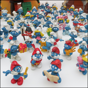 Smurf figurines