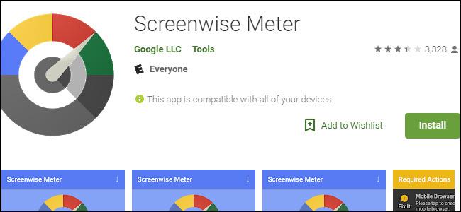 Screenwise Meter listing in Google Play Store