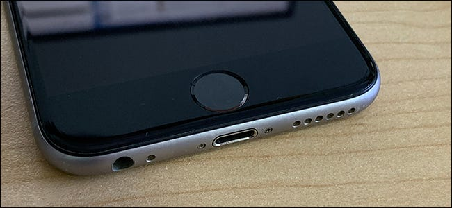 Touch ID on the iPhone 6