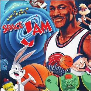 promotional image for the film Space Jam