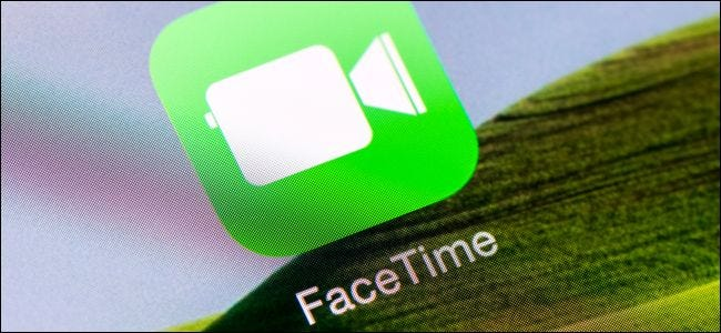 FaceTime app icon on an iPhone or iPad