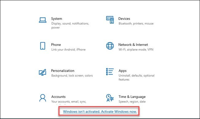 how to activate windows 10 pro without internet