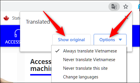 How to Turn Translation On or Off in Chrome
