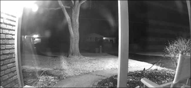 How To Use A Security Camera S Night Vision Through A Window