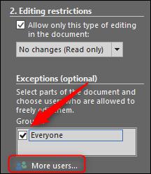 everyone exception