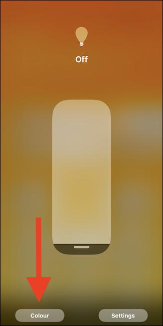 Tap color