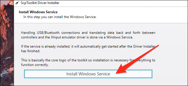 Install Windows Service