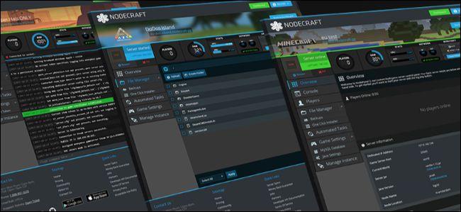 Managed game server hosting panel