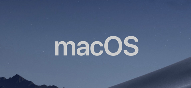 MacOS Stock Photo