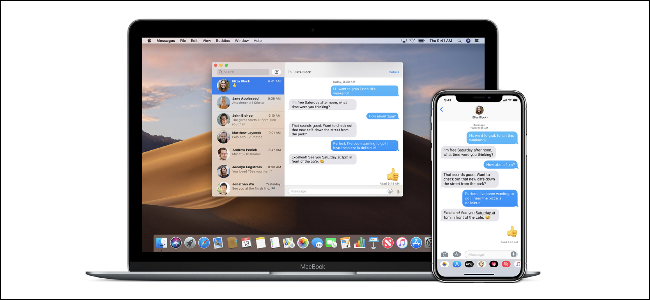 iMessage on a Mac