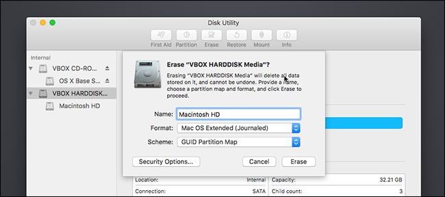Erase Mac Hard Drive