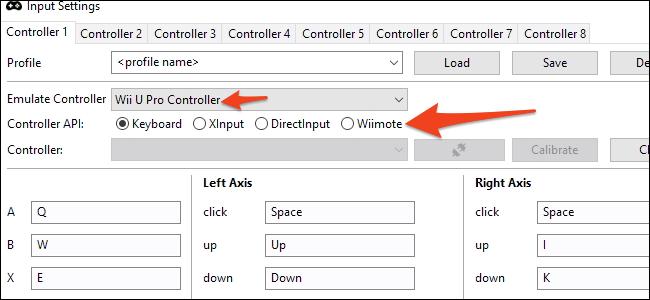 cemu controller options
