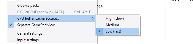 GPU buffer cache accuracy low