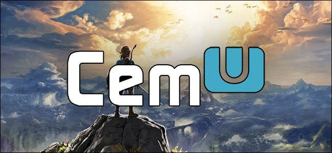 Breath of The Wild with Cemu Logo