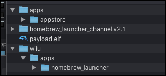 Wii U Homebrew files