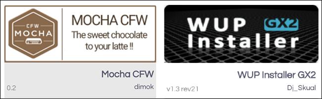 Wii U Homebrew Mocha CFW app store