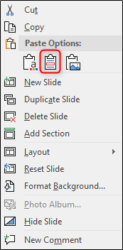 keep source formatting option