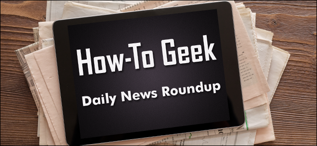 How-To Geek Daily News Roundup on an iPad.