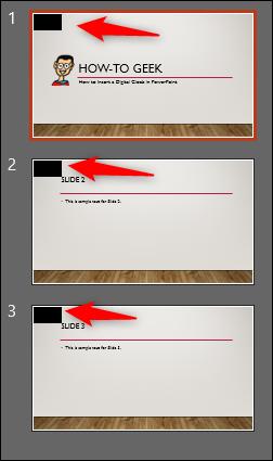paste in each slide