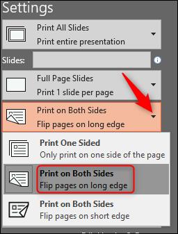 Imprimir en los dos lados