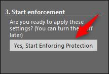 start enforcing