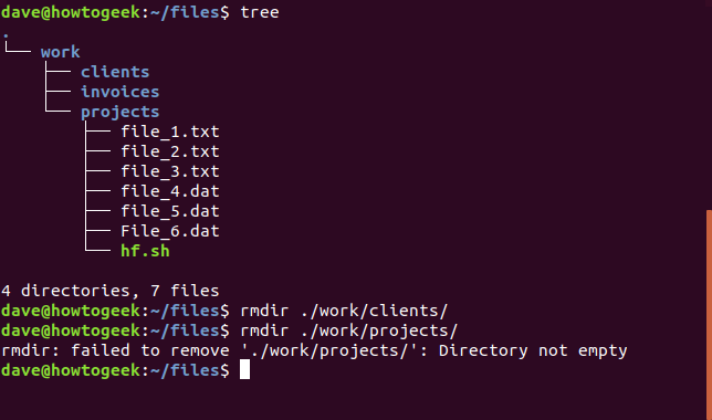 How to Delete Files and Directories in the Linux Terminal
