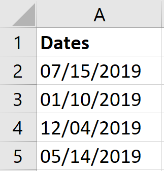 US date formats to convert