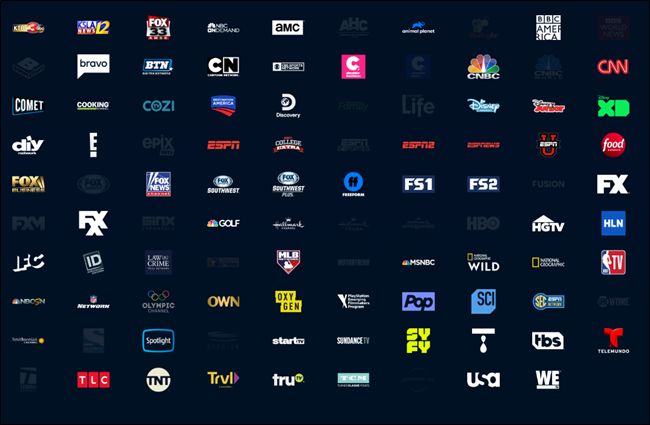 PlayStation Vue Channels
