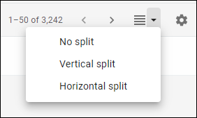 The preview pane options