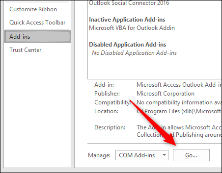 How to Disable Outlook Add-ins For Troubleshooting