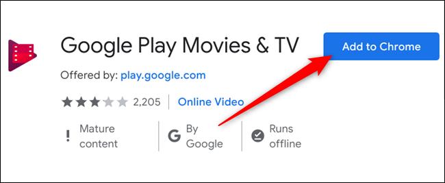 Click Add to Chrome