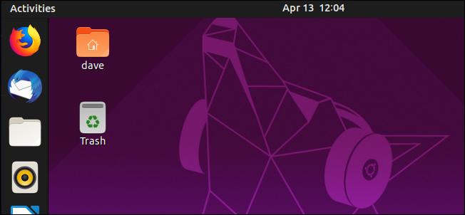Ubuntu 19.04 Disco Dingo desktop