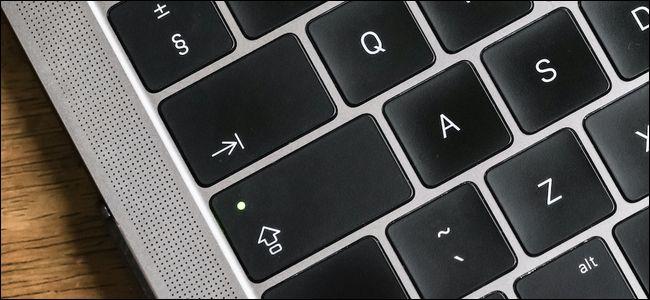 Mac Caps Lock Key